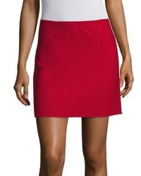 Theory Irenah Saxton A Line Mini Skirt
