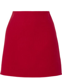 1eba4d776d Prada Button Embellished Wool Mini Skirt Red Out of stock · Theory Irenah  Saxton Stretch Wool Crepe Mini Skirt Claret