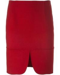 DKNY Front Slit Skirt