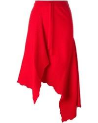 MARQUES ALMEIDA Marquesalmeida Asymmetric Draped Skirt