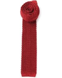 Ermenegildo Zegna Knitted Straight Edge Tie
