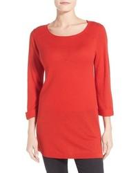 Red Wool Tunic
