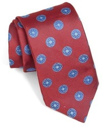 Ted Baker London Medallion Woven Silk Tie