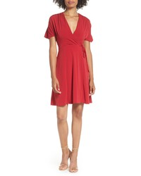 French Connection Alexia Faux Wrap Dress