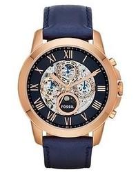 Reloj azul marino