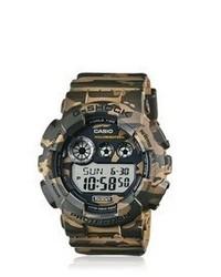 Reloj de camuflaje verde oscuro de G-Shock