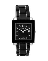 Reloj de cerámica negro de Fendi