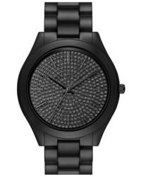 Reloj de cerámica negro de MICHAEL Michael Kors