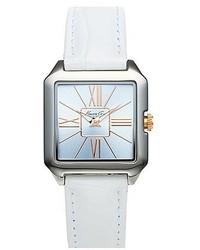 Reloj de cuero blanco de Kenneth Cole
