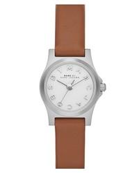 Reloj de cuero marrón claro de Marc by Marc Jacobs