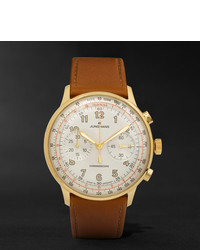 Reloj de cuero marrón de Junghans
