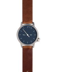 Reloj de cuero marrón de Miansai