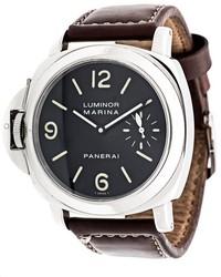 Reloj de cuero negro de Panerai