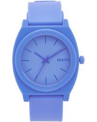 Reloj de goma azul de Nixon