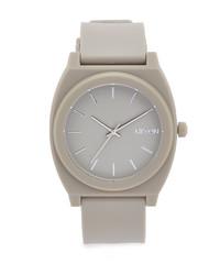 Reloj de goma gris de Nixon