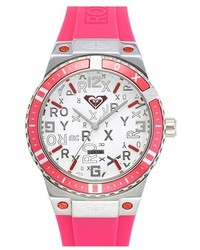 Reloj de goma rosa de Roxy