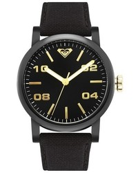 Reloj de lona negro de Roxy