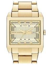 663f7d7bf0ff Comprar un reloj dorado AX Armani Exchange