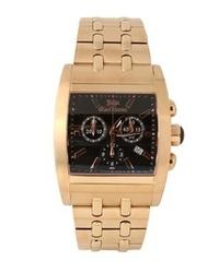 Reloj dorado de John Galliano