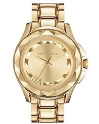 Reloj dorado de Karl Lagerfeld