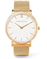 Reloj dorado de Larsson & Jennings
