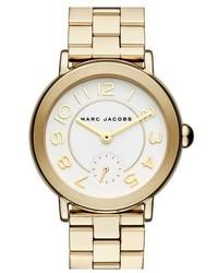 Reloj dorado de Marc Jacobs