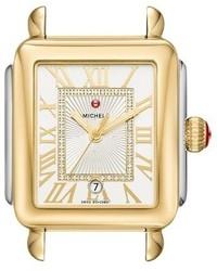 Reloj dorado de Michele