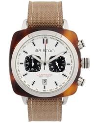 Reloj en beige de Briston