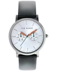 Reloj en gris oscuro
