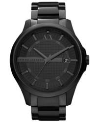 Reloj en gris oscuro de Armani Exchange