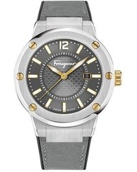 Reloj gris de Salvatore Ferragamo