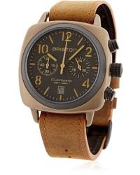 Reloj marrón claro de Briston