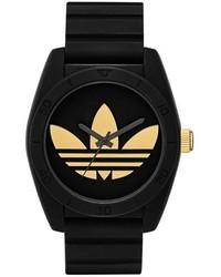 Reloj negro de adidas
