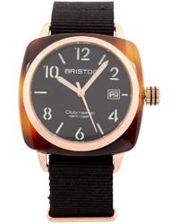 Reloj negro de Briston
