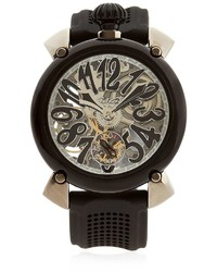 Reloj negro de GaGa MILANO