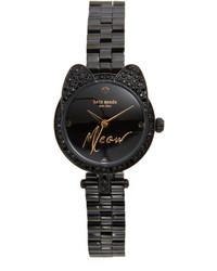 Reloj negro de Kate Spade