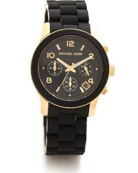 Reloj negro de Michael Kors