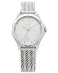 Reloj plateado de DKNY