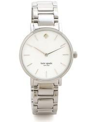 Reloj plateado de Kate Spade