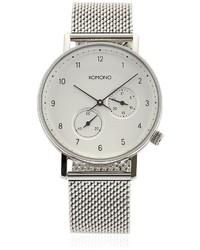 Reloj Plateado de Komono