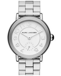 Reloj plateado de Marc Jacobs