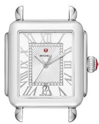 Reloj plateado de Michele