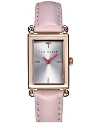 Reloj rosado de Ted Baker