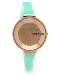 Reloj Verde Menta de RumbaTime