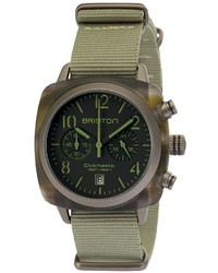 Reloj verde oscuro de Briston
