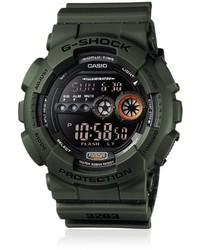 Reloj verde oscuro de G-Shock