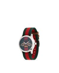 Reloj verde oscuro de Gucci