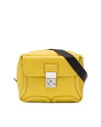 Riñonera de cuero amarilla de 3.1 Phillip Lim