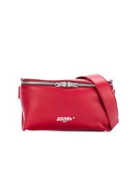 Riñonera de cuero roja de Golden Goose Deluxe Brand