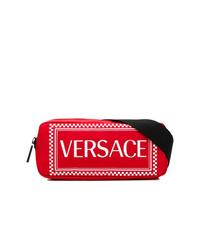 Riñonera roja de Versace